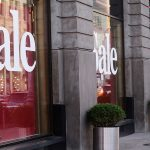 storefront sale vinyl
